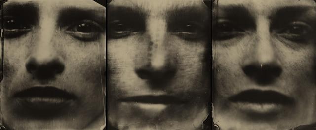 Sally Mann, 'Triptych', 2004, Photography, Three gelatin silver enlargement prints with varnish, Edwynn Houk Gallery