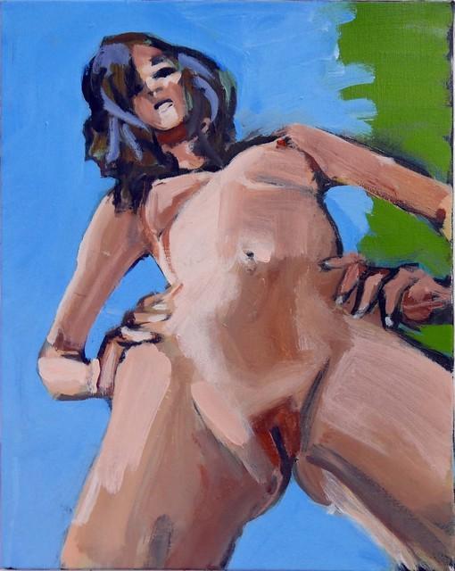 Walter Robinson, 'Giantess (Blue Sky)', 2017, Morgan Lehman Gallery