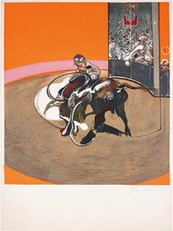 Francis Bacon, 'Étude pour une corrida (after Study for a Bullfight No. 1, 1969),' 1971, Phillips: Evening and Day Editions