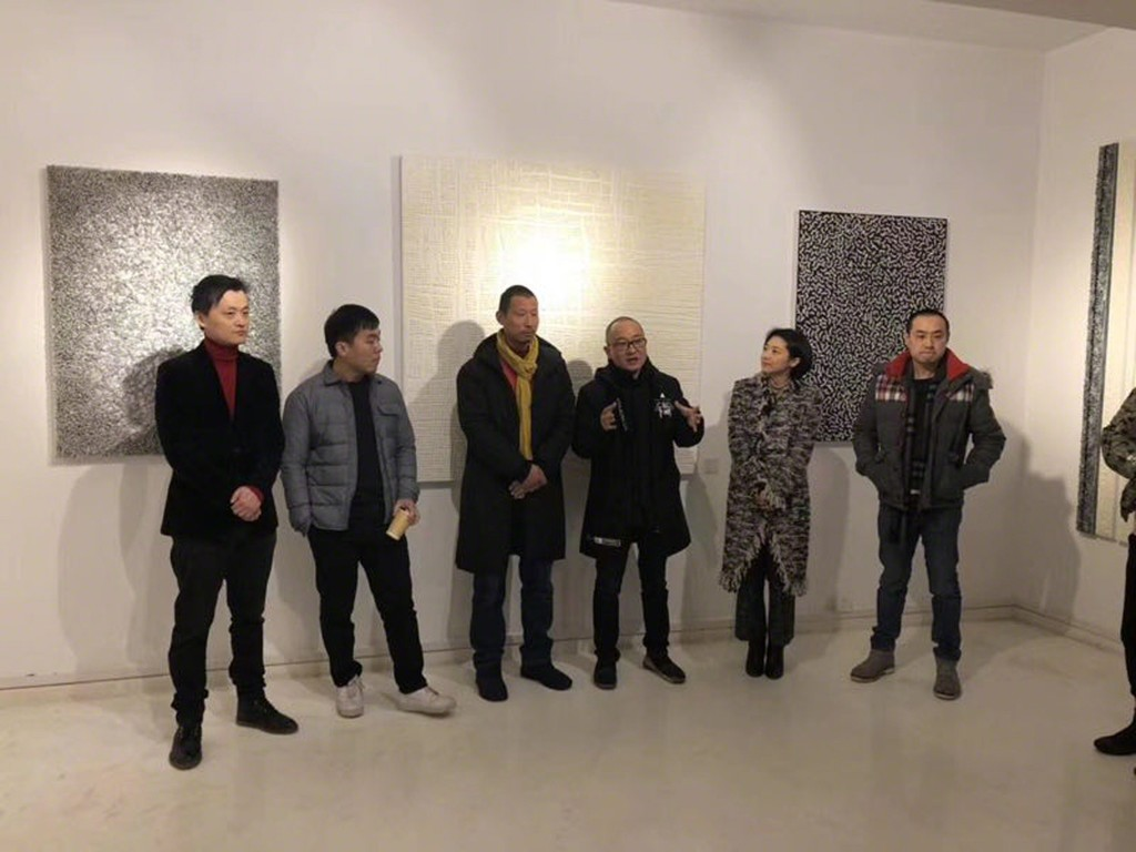 Guests at ATA Gallery exhibition launch Party, M-50 Shanghai.
