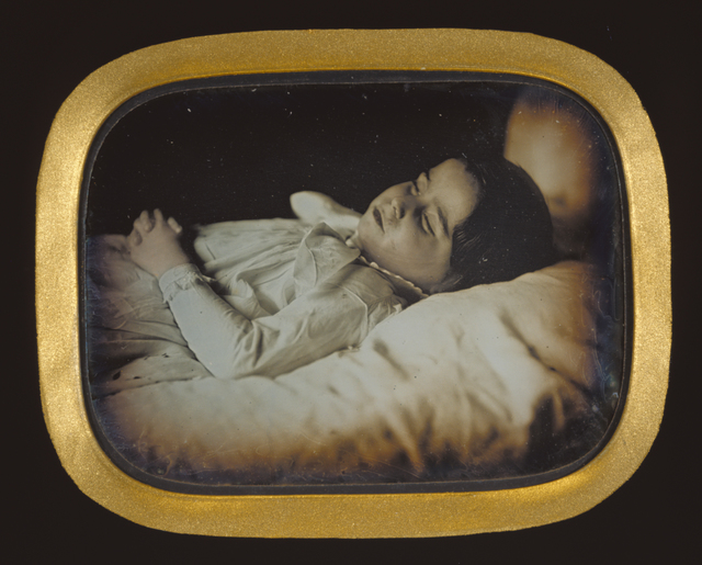 , 'Postmortem of a Child,' ca. 1852, J. Paul Getty Museum