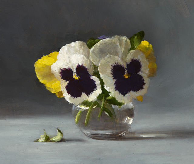 , 'Pansies,' 2016, Grenning Gallery