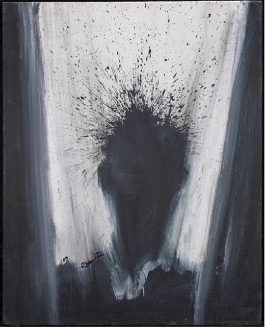 , 'Shadow Head with Grey Background ,' 1992, Maddox Gallery