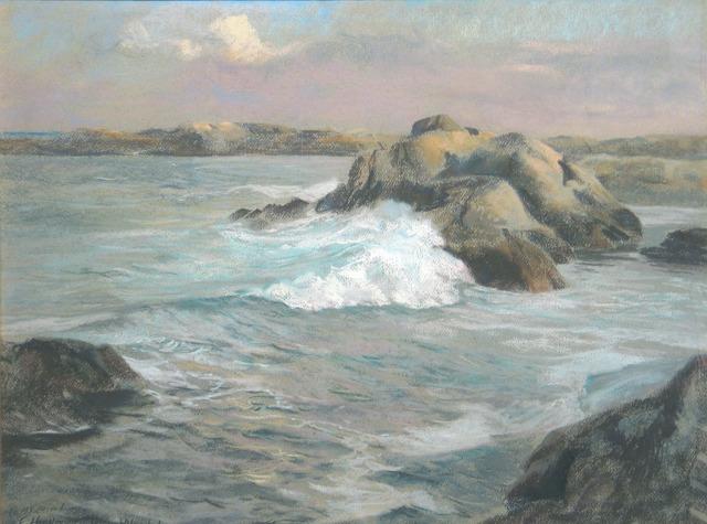Theodore Wendel, 'Breaking Waves', 19th -20th Century, Vose Galleries
