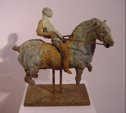 , ''Fragment of the horse with man and lifted tail' ,' 1996, 18 Davies Street Gallery