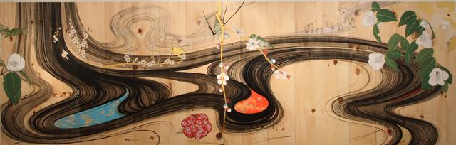 , 'tokuru kami no himagoto ni,' 2010, Aki Gallery
