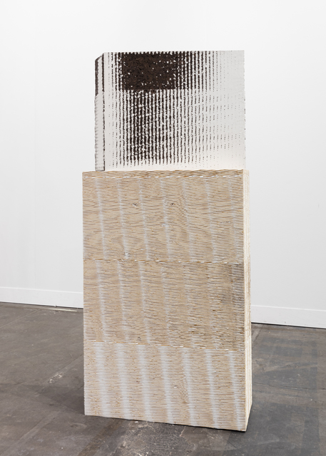 , 'Prismatic tank II,' 2017, Galerie Nathalie Obadia