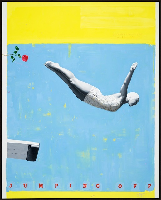 , 'Jumping Off,' 2020, Bruce Lurie Gallery