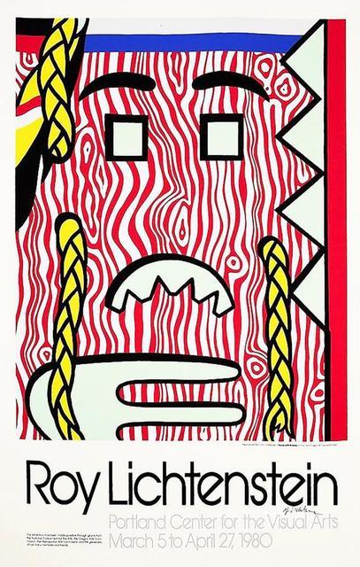 Roy Lichtenstein, 'Head with Braids Poster', 1980, Leviton Fine Art