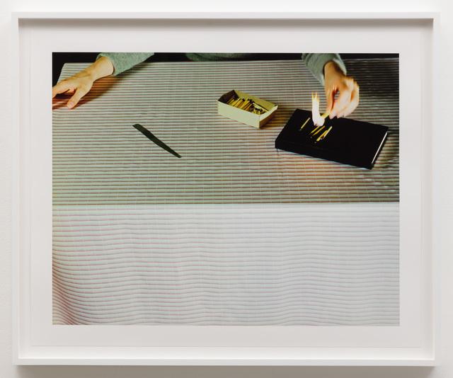, 'Lighting Matches,' ca. 1979, Anat Ebgi