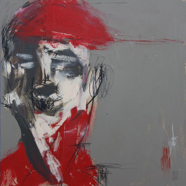 Michael Gadlin, 'Red Hat #3', 2016, La Napoule Art Foundation
