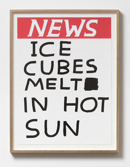 , 'Untitled (Ice cubes melt in hot sun),' 2017, Galleri Nicolai Wallner