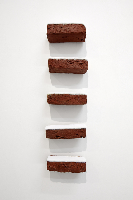 , 'Bricks (vertical),' 2012, Lange + Pult
