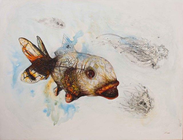 , 'En el acuario,' , Lux Perpetua Art Centre