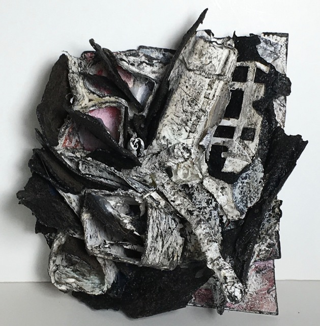 , 'L.A. on Fire,' 2017, Osceola Gallery