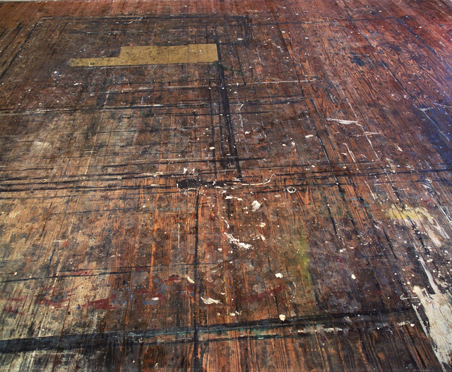 , 'Westward View, Colin McCahon's Muriwai Studio Floor,' 2006, Sanderson Contemporary Art