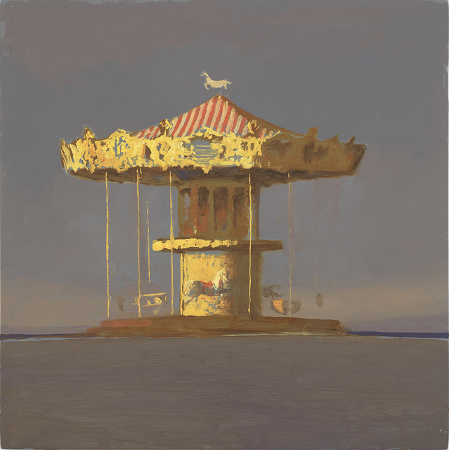 Bo Bartlett, 'Archachon Carousel (Study)', 2017, Somerville Manning Gallery
