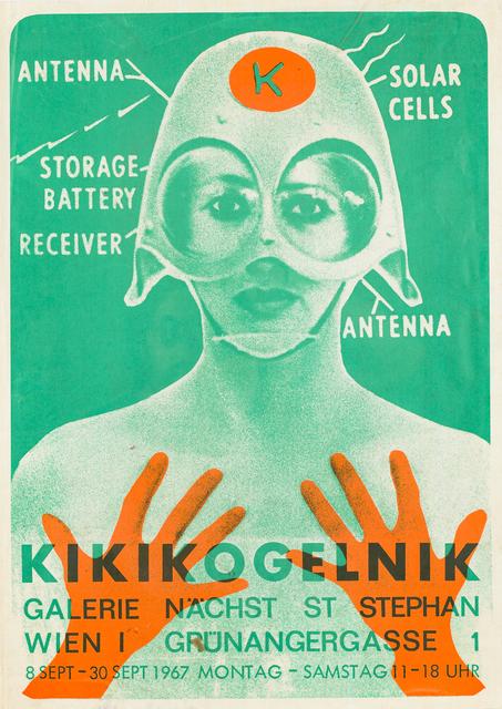 Kiki Kogelnik, 'KIKIKOGELNIK, 1967 (exhibition poster)', 1967, Galerie Lehner