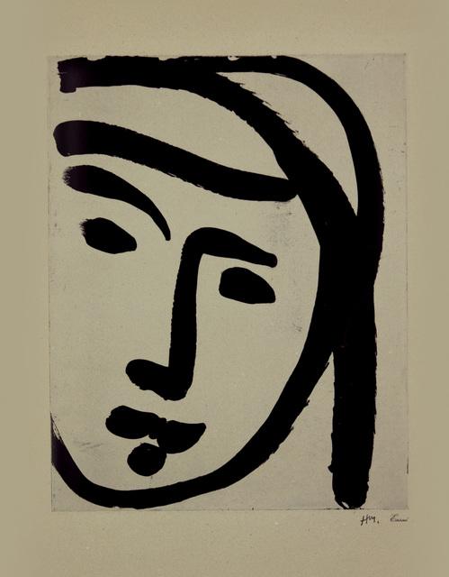 , 'Bedouine au large visage,' 1947, Marlborough Gallery