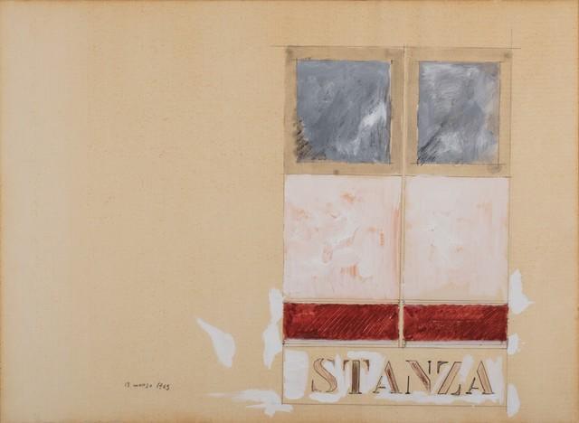Tano Festa, 'Stanza', 1965, Finarte