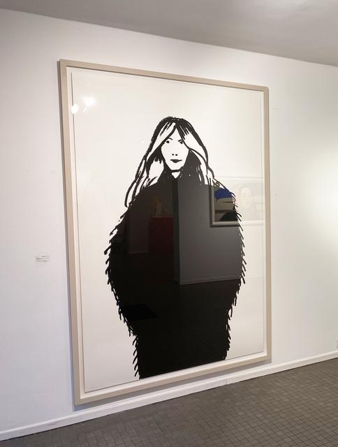 Alex Katz, 'Shopper #17', 2015, Print, Silkscreen on paper, Galerie Schimming