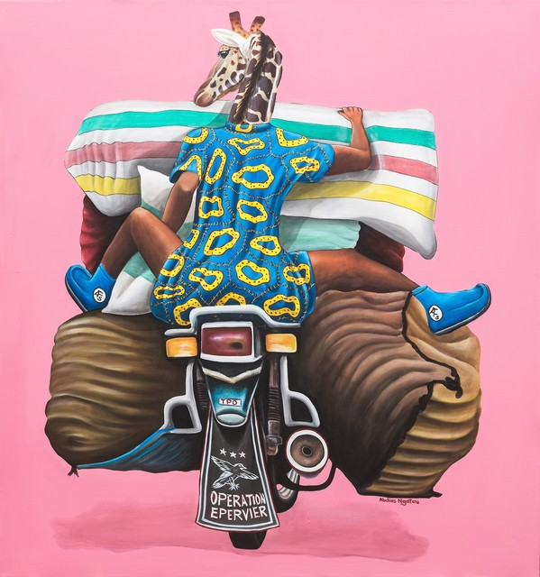 , 'Opération épervier,' 2018, Out of Africa Gallery