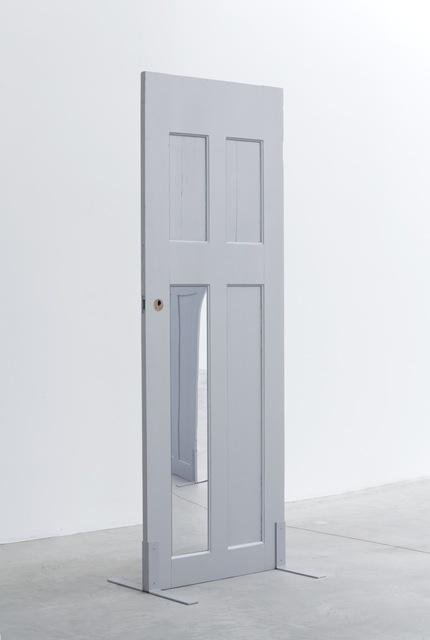 , 'Single Silver Door (two),' 2014, Galleria Franco Noero