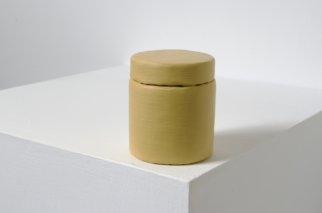 , 'Paint Can_ Yellow Oxide,' 2014, Eslite Gallery