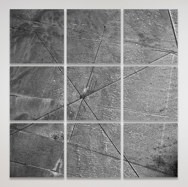 , 'South Ballistics Grid_04,' 2014, Haines Gallery
