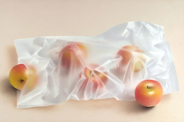 , 'RED APPLES WITH PLASTIC SACK,' 2004, Jerald Melberg Gallery