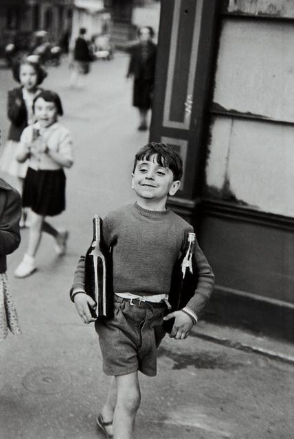 Henri Cartier-Bresson, 'Rue Mouffetard, Paris', 1954, Phillips