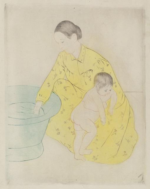 Mary Cassatt, 'The Bath', ca. 1891, National Gallery of Art, Washington, D.C.