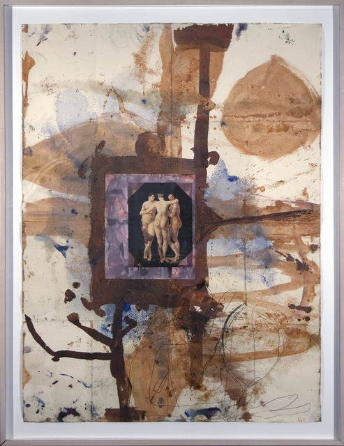 Anton Henning, 'Untitled Drawing', 1989, Mixed Media, Mixed media on paper, Heather James Fine Art