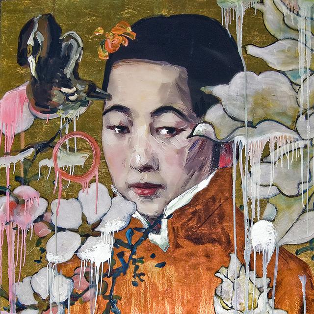 , 'Flower Girl Gold,' 2012, Turner Carroll Gallery