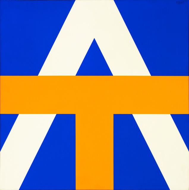 , '#1,' 1965, David Klein Gallery