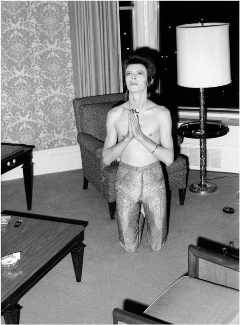 , 'Bowie Praying on Knees,' 1972, TASCHEN