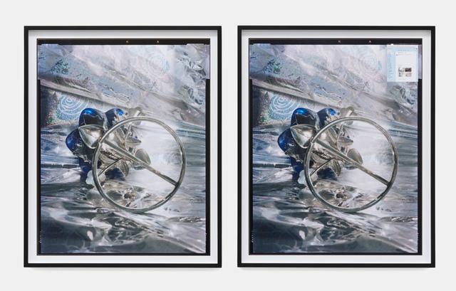 , 'below,' 2019, galerie frank elbaz