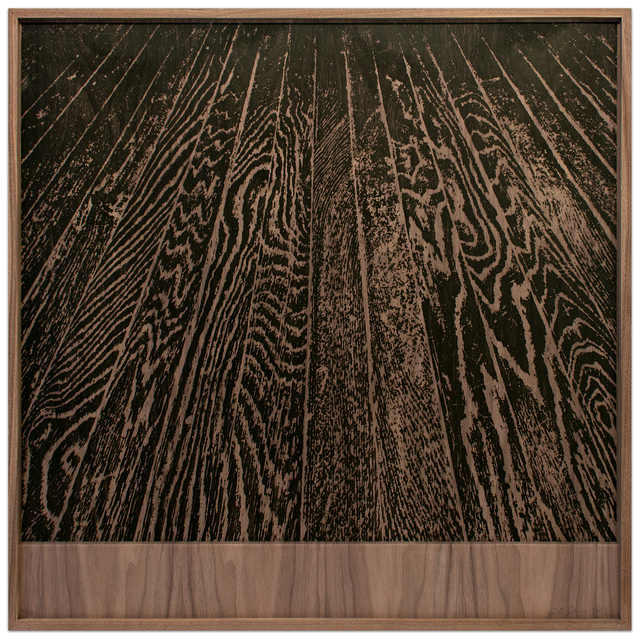 Analia Saban, 'Wooden Floor on Wood (One-Point Perspective)', 2017, Krakow Witkin Gallery