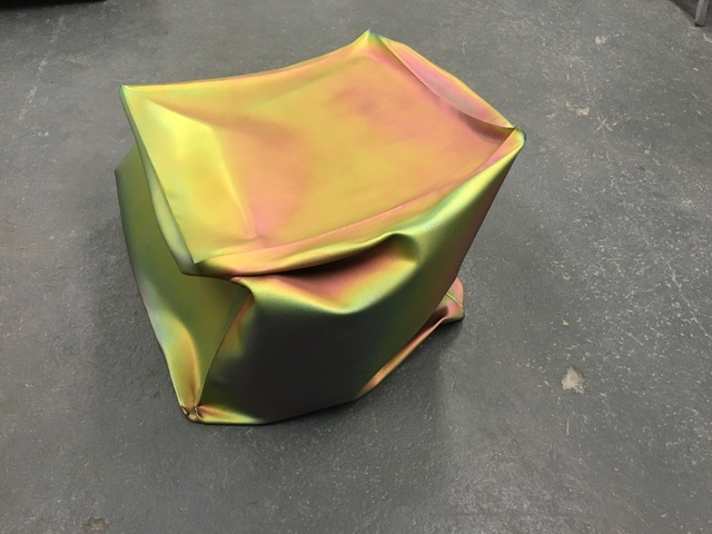 , 'Crushed Cube (iridescent),' 2018, Carolina Nitsch Contemporary Art