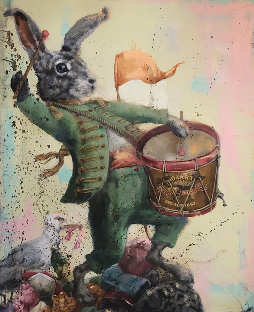 Jill McVarish, 'Tower of Babel', 2020, Painting, Oil on canvas, McVarish Gallery