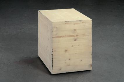 , 'Black Box 45 x 60 x 60 cm,' 2005, Philipp von Rosen Galerie