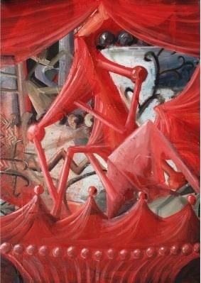 """SIRO """"M #2"""" Oil on canvas"""
