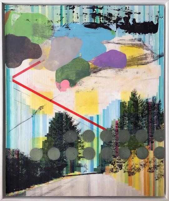 , 'Plastic Skyline,' 2016, BoxHeart