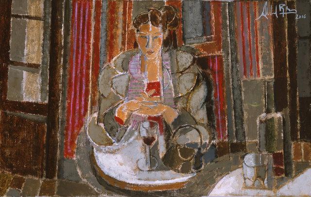 , 'Vino Tinto,' 2016, Albemarle Gallery   Pontone Gallery
