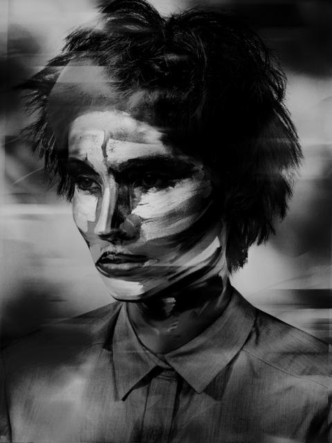 , 'Lady Stripes,' 2017, Edwynn Houk Gallery