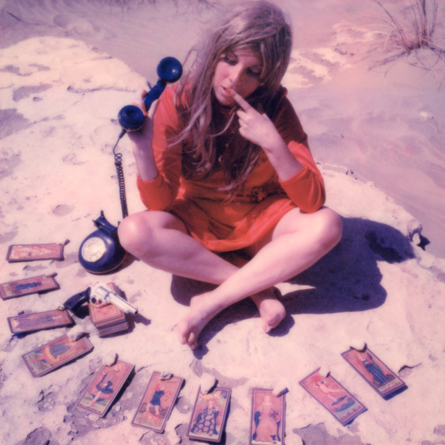 , '24 hr Psychic Desert Hotline - Contemporary, Polaroid, Photograph, Figurative, Women, 21st Century,' 2018, Instantdreams