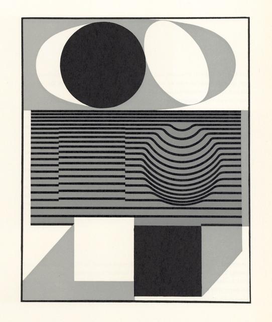 Victor Vasarely, 'Ondho (form the Geh durch den Spiegel portfolio)', 1961, Artsnap