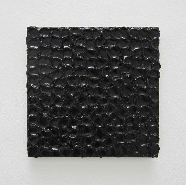 , 'Monochrome noir, fait à la petite cuillère,' 2013, Galerie Jean Brolly