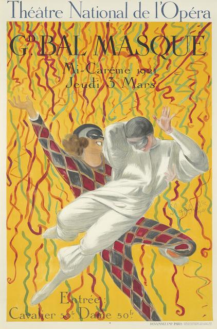 , 'Théâtre National de l'Opéra/Gd Bal Masque.,' 1921, Rennert's Gallery