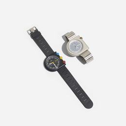 Dugena Mach 2000 Wristwatches, Set of Two